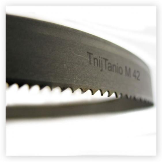 3. Piła taśmowa bimetalowa TnijTanio M42 - 13x0,6x10/14