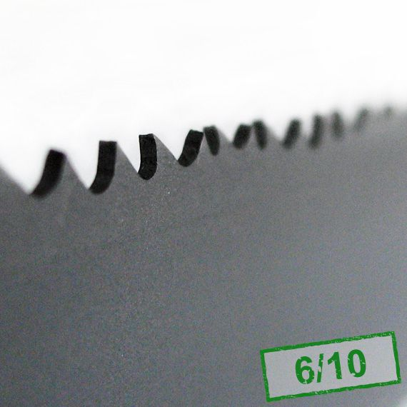 5. Piła taśmowa bimetalowa HI-STANDARD 27x0,9x6/10