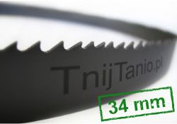 Piły taśmowe HI-STANDARD - szerokość 34 mm