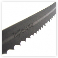 1. Piła taśmowa bimetalowa TnijTanio M42  13x0,6x6/10