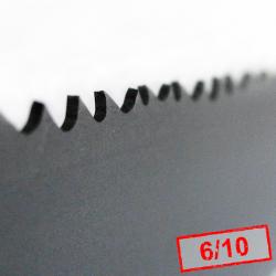 3. Piła taśmowa bimetalowa POWER TT 19x0,9x6/10