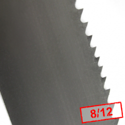 2. Piła taśmowa bimetalowa POWER TT 13x0,6x8/12