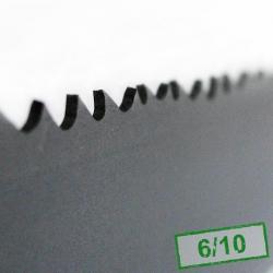 5. Piła taśmowa bimetalowa HI-STANDARD 34x1,1x6/10
